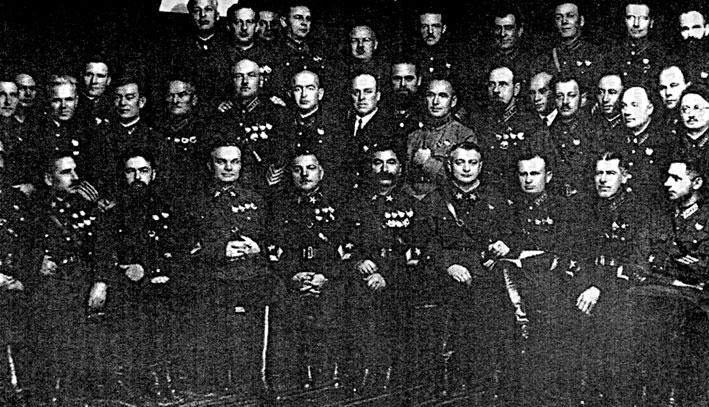 Репрессии в Красной Армии перед войной