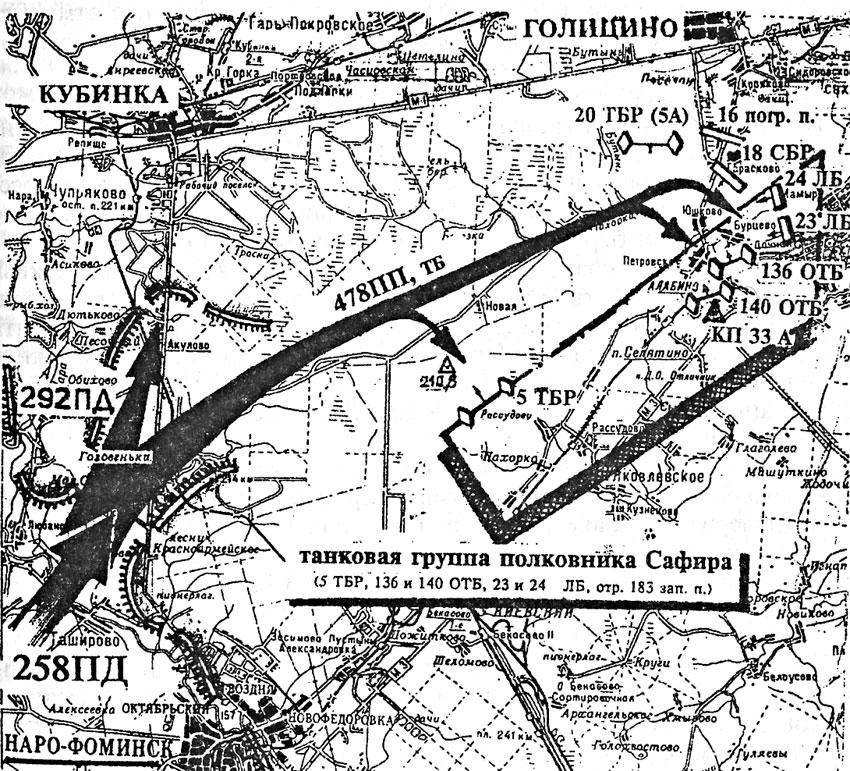 Нарофоминский прорыв немцев к